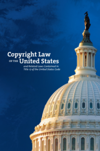 Copyright Law of the United States 2018 Title 17 cover
